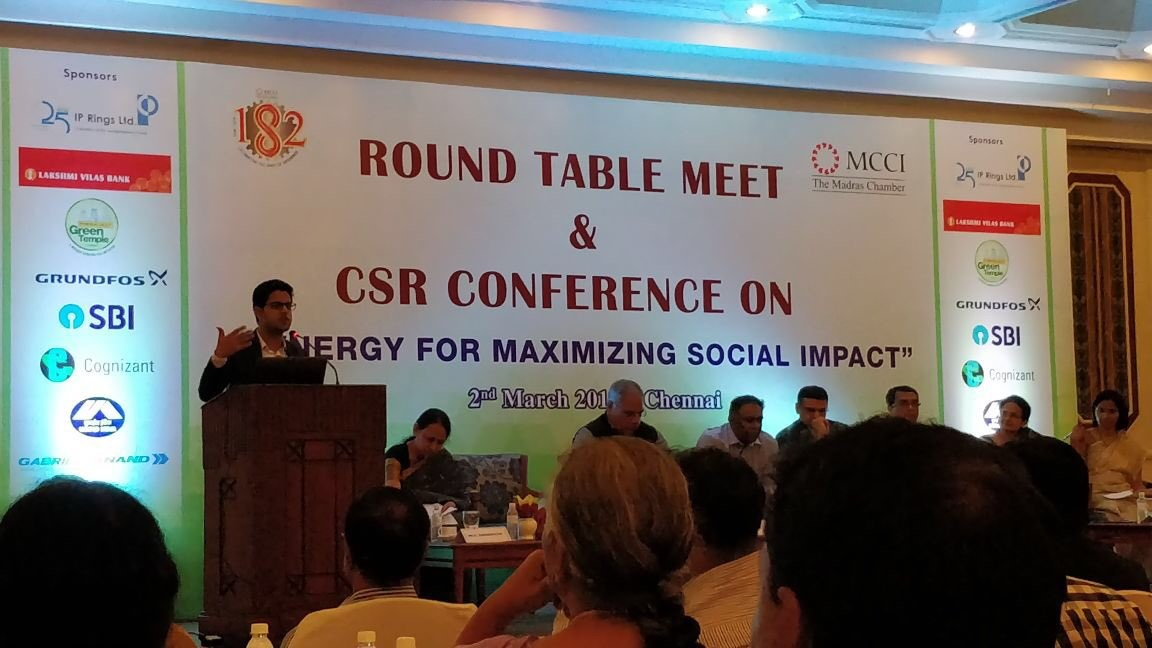 Round Table Meet and CSR Conference