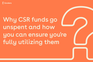 why CSR funds go unspent