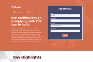 Key clarifications on Complying with CSR Law in India