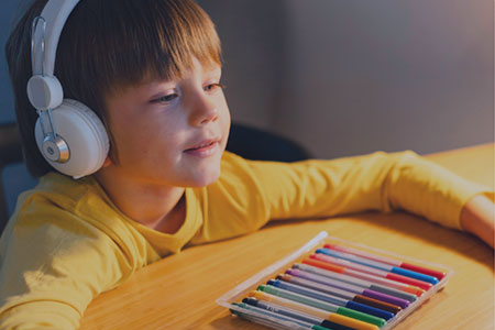Volunteer with your team to record audiobooks for children with vision impairment, enabling them with better access to educational materials and helping the nonprofit build a more inclusive world.