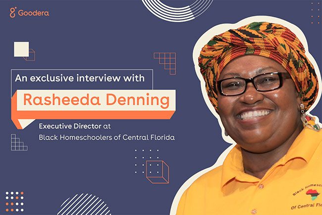 Rasheeda Denning talks homeschooling and virtual volunteering with Goodera